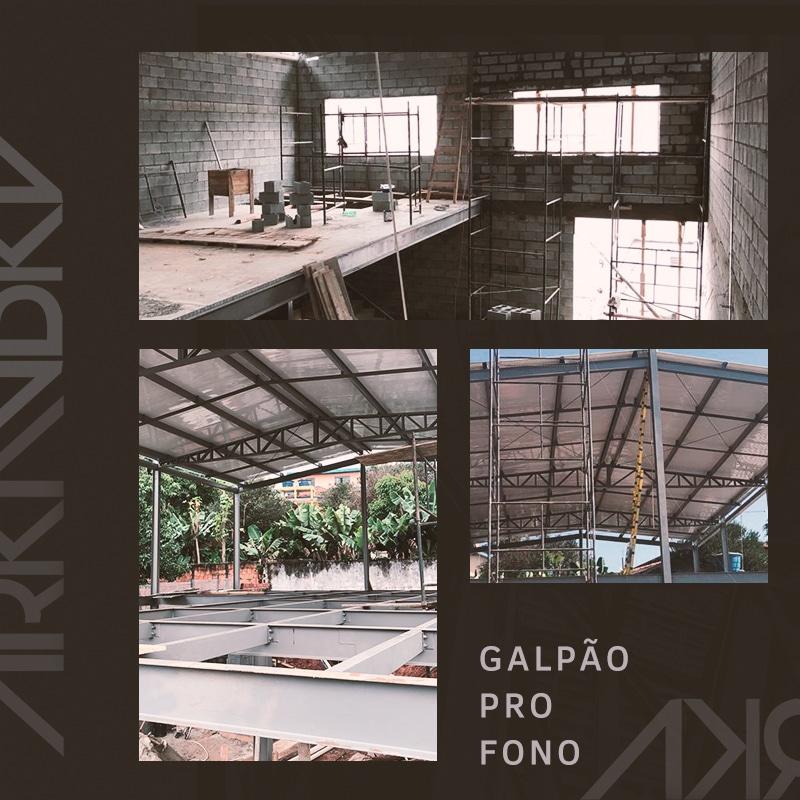 Galpão Pró-Fono com Mezanino – Carapicuiba/SP